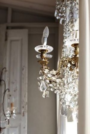 Decorating with lucite crystal and glass - Crystal glass chandelier lighting.jpg